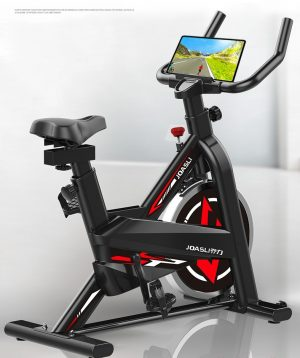 Indoor Exercise Fitness SpinBike Black